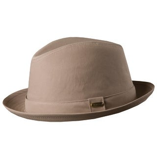 Stetson Men's Cotton Blend Water Repellent Fedora Hat