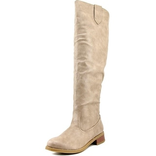 Bamboo Yoda-15 Round Toe Synthetic Knee High Boot