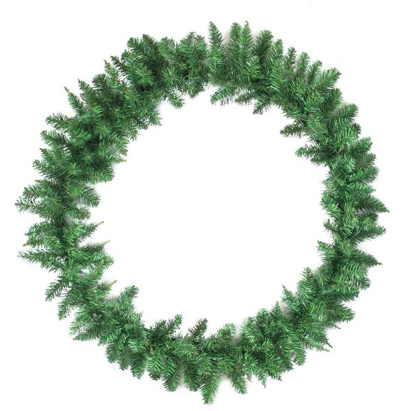 "31"" Buffalo Fir Artificial Christmas Decorators Wreath - Unlit"