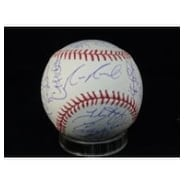Signed Brewers Milwaukee 2011 MLB Baseball by the 2011 Brewers Team 25 Signatures in all autographe