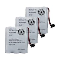 Replacement Battery For Uniden CXAI5198 Cordless Phones - BT905 (600mAh, 3.6V, NiCD) - 3 Pack
