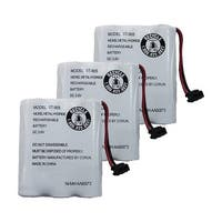 Replacement For Uniden BT-1006 Cordless Phone Battery (600mAh, 3.6V, NiCD) - 3 Pack
