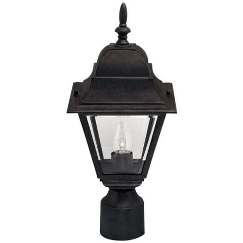 "Canarm IOL1310 Single Light 16-3/4"" High Outdoor Post Light"