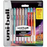 Uni-Ball Gelstick .38Mm & .7Mm Pens 12/Pkg-Assorted