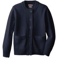 French Toast Girls 7-14 Knit Cardigan Sweater - Black