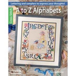 A To Z Alphabets - Leisure Arts