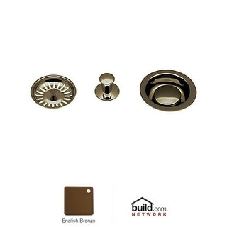 Rohl 737 Basket Strainer with Pop-Up Controls and Basket
