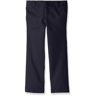 French Toast Girls 4-6X Adjustable Flat Front Twill Pant