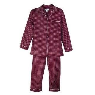 Ten West Apparel Men's Big and Tall Long Sleeve Long Leg Pajamas (Option: 5x)