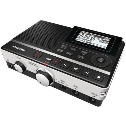 SANGEAN DAR-101 Digital Audio Recorder with Phone Answering Capability