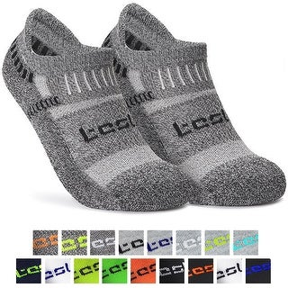 Tesla TM-MZS04 Low-Cut Comfort Cushion Athletic Socks - 6-Pack (More options available)