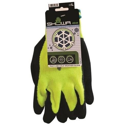 Showa 4544L-09.RT Insulated Polar Shield Work Gloves, Large