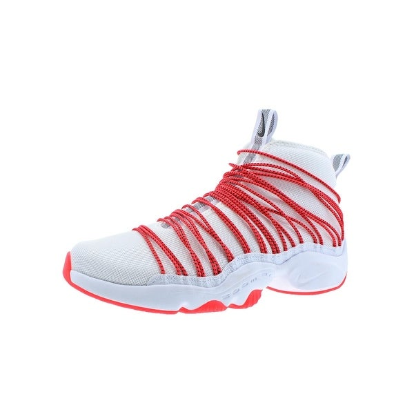 eb6627d666c Shop Nike Mens Zoom Cabos Basketball Shoes High-Top Bungee Lace ...