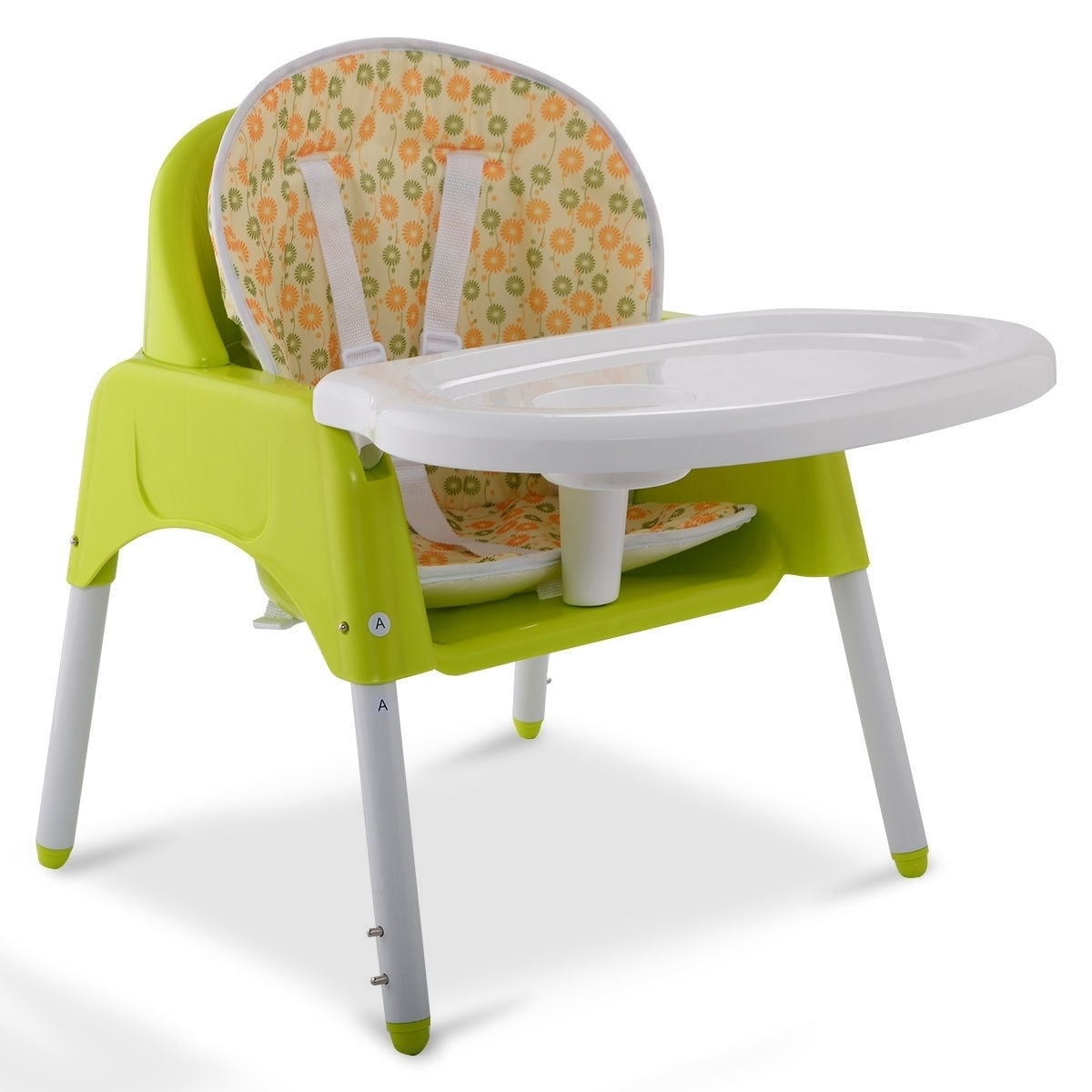 3 in 1 Convertible Baby High Chair Feeding Seat thumbnail