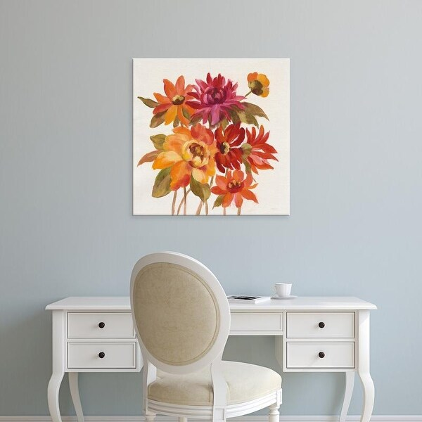 Easy Art Prints Silvia Vassileva's 'English Garden I' Premium Canvas Art