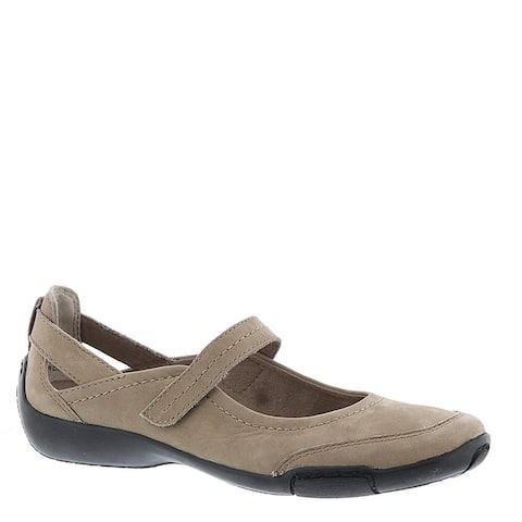 ARRAY Womens Julia Leather Almond Toe Mary Jane Flats