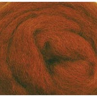 """Nutmeg - Wool Roving 12"""" .22Oz"""