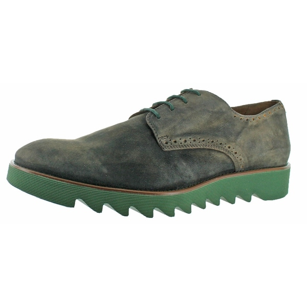 Donald J Pliner Safiro Men's Oxford Shoes Suede