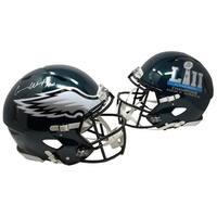 Carson Wentz Signed Eagles FS Authentic Super Bowl 52 Speed Helmet Fanatics