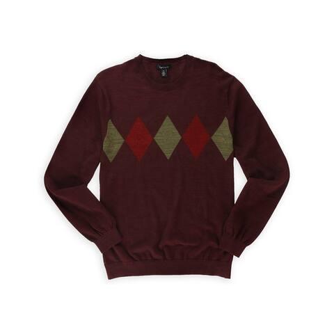 Van Heusen Mens Argyle Pullover Sweater
