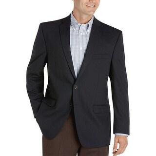 Ralph Lauren Slim Fit Dark Navy Blue Textured Sportcoat 40 Regular 40R