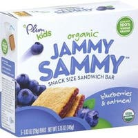 Plum Organics - Blueberry & Oatmeal Jammy Sammy ( 30 - 1.03OZ)