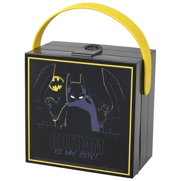 Shop Lego Batman Movie Lunchbox With Handle Black Multi