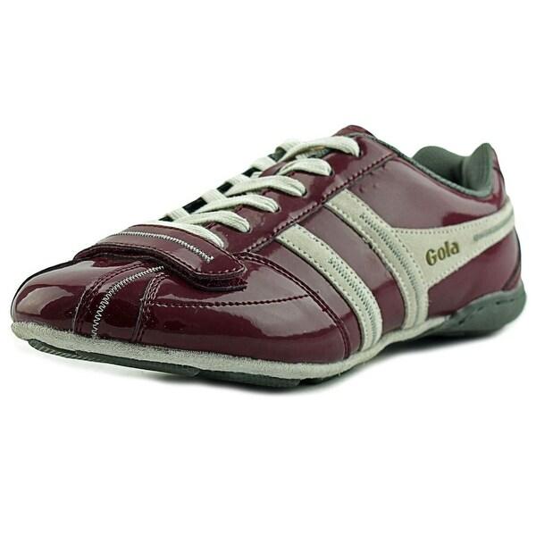 Gola Kit Men Burgundy/Ecru Sneakers Shoes