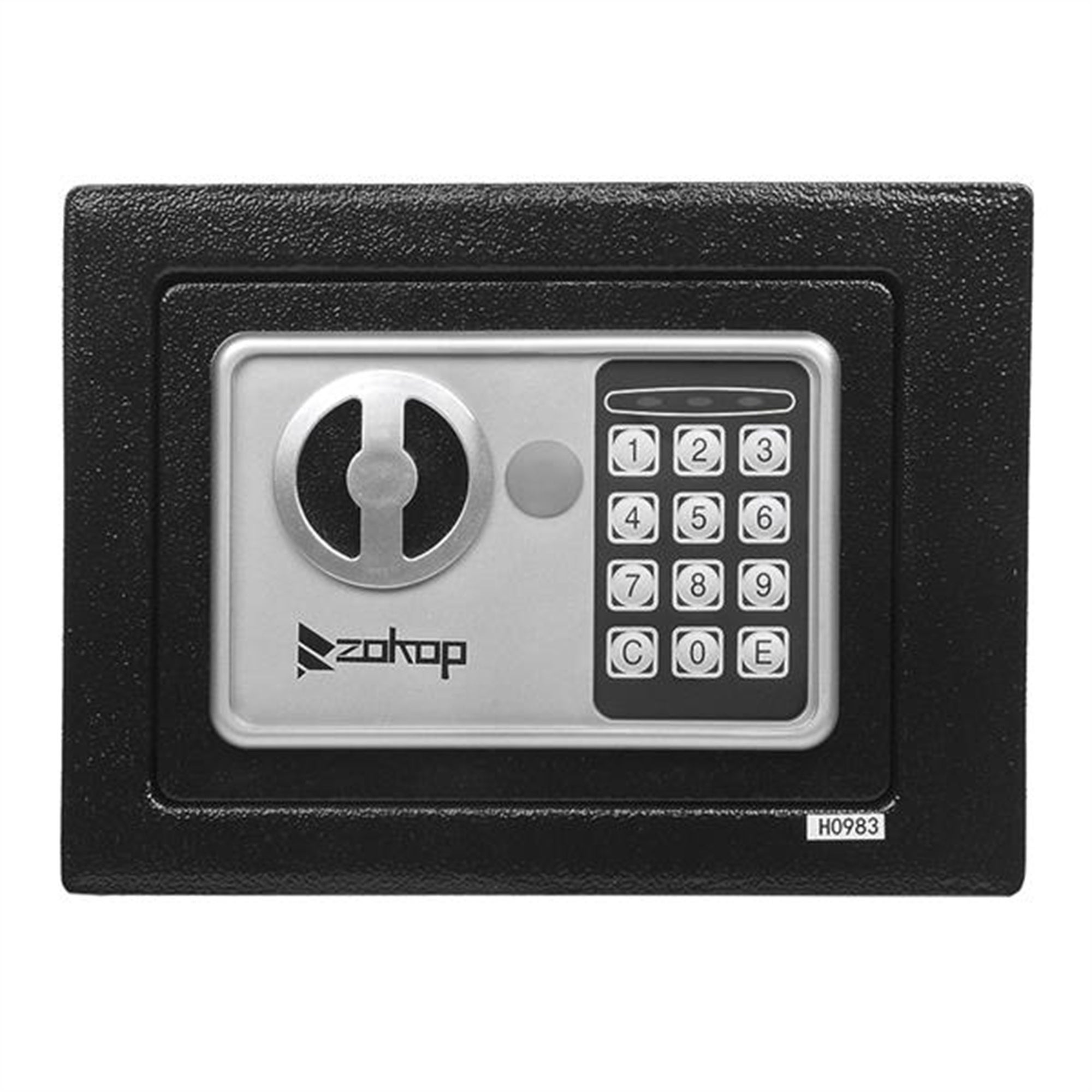 Waqiv Mini Wall-in Style Electronic Code Metal Steel Box Safe Case 6.89H Home Small Digital Security Safe Box Wall with Lock for Jewellery Money Valuables