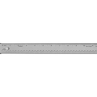 """Alumicolor - Pica/Point Ruler - 12"""""""