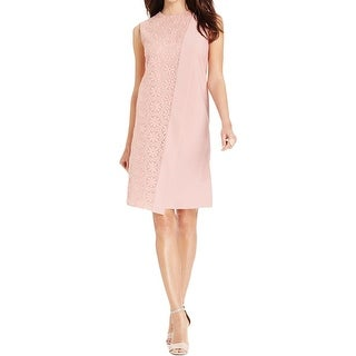 Anne Klein Womens Party Dress Embroidered Overlay