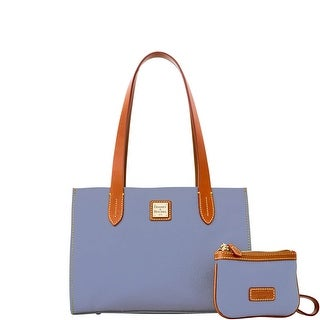 Dooney & Bourke Eva Small Shopper W Med Wristlet (Introduced by Dooney & Bourke at $228 in Mar 2015) - Dusty Blue