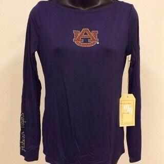 Auburn Tigers WOMENS Sizes XS S M L Designer Boatneck Shirt Meesh Mia