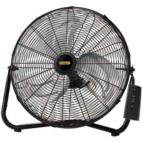 """Lasko Products 655650B 20-Inch High Velocity Floor or Wall mount Fan"""