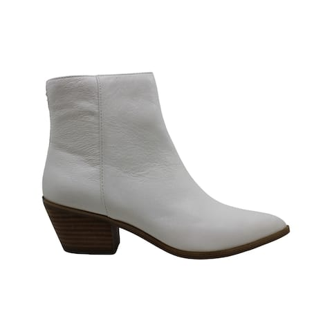 Aldo Womens Dreliwia Leather Pointed Toe Ankle Fashion Boots