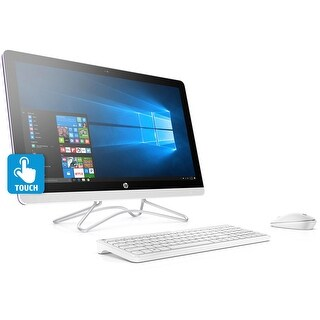 "HP 24-E032 AMD A9 1TB HDD, 23.8"" Full HD Touch-Screen, All-in-One PC - Purple"