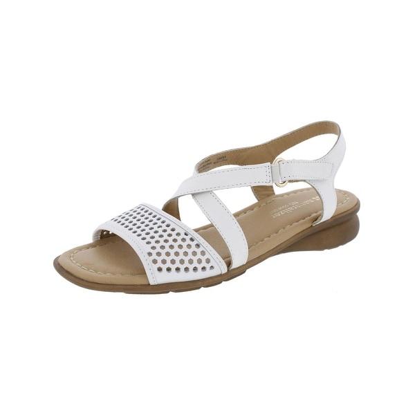 Naturalizer Womens Juniper Flat Sandals Strappy Open Toe
