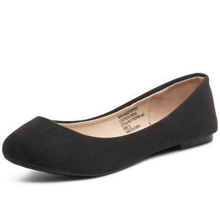 Link to Alpine Swiss Womens Pierina Round Toe Ballet Flats Similar Items in Women's Shoes