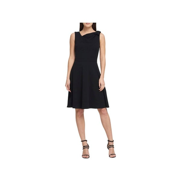 DKNY Womens Cocktail Dress Bow Knee-Length. Opens flyout.