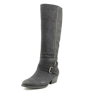 Kenneth Cole Reaction Raw Deal   Round Toe Leather  Knee High Boot