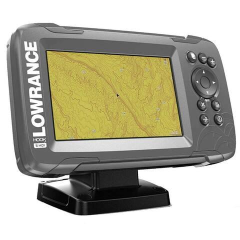 Lowrance Hook2-5 Baja Off-Road Plotter Chart Plotter