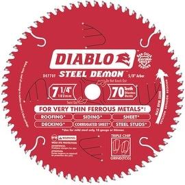 "Diablo 7-1/4""X70T Stl Dem Blade"