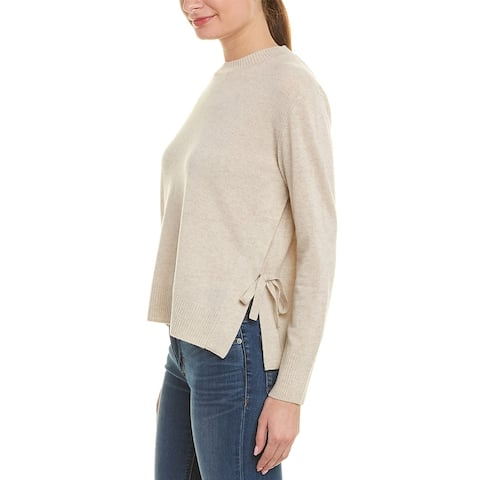 Vince Side-Tie Cashmere Sweater