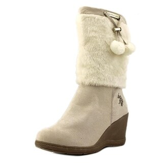 US Polo Assn Noelle Round Toe Synthetic Snow Boot