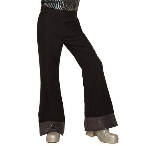 Forum Novelties Black Disco Pants (Standard)