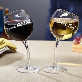 Lets Get Tipsy! Wine Glasses