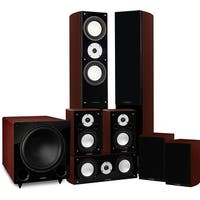 Fluance Reference Series Surround Sound Home Theater 7.1 Channel System - Mahogany (XL71MR)