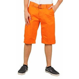 MO7 Young Men's Enzyme Wash Chino Short