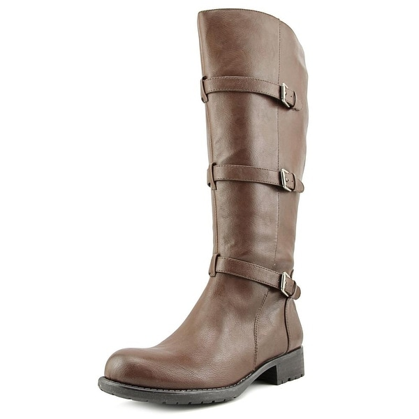 Franco Sarto Petite Wide Calf Women Round Toe Synthetic Knee High Boot