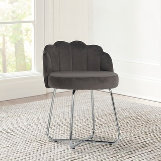 Link to Hillsdale Furniture Catalina Metal Vanity Stool - 25.25H x 20.5W x 20.5D Similar Items in Living Room Furniture
